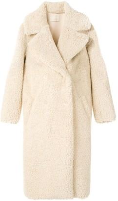 Mes Demoiselles Shoreditch faux-shearling coat