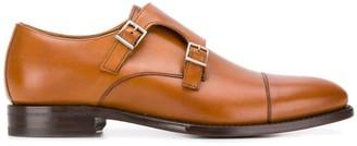 Berwick Shoes double buckle monk shoes