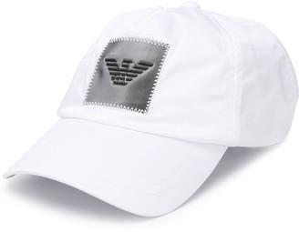 Emporio Armani Stitched Logo-Patch Cap