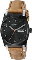Nixon Women's A9551037-00 Jane Leather Analog Display Japanese Quartz Brown Watch