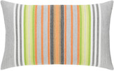Elaine Smith Spring Stripe Lumbar Sunbrella Pillow