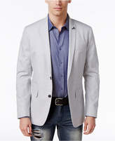 INC International Concepts Men's Slim-Fit Grey Blazer, Created for Macy's
