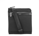 Hugo Digital Zip Crossbody Bag Black