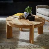 Boerum Round Coffee Table - Solid Oak