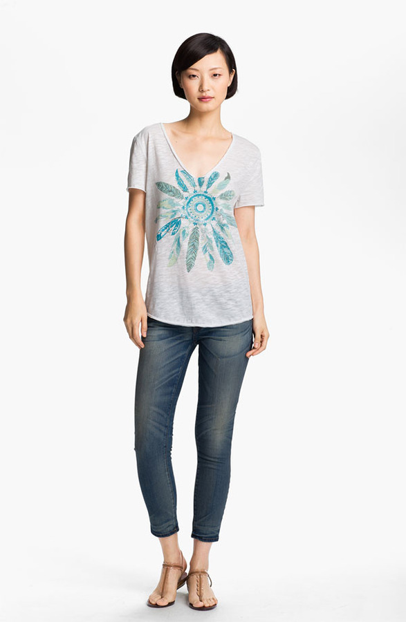Zadig & Voltaire 'Tino Flamme' Print Tee