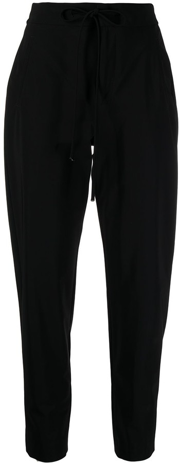 Pt01 Drawstring Waist Tapered Trousers