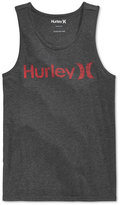 Hurley Men's One and Only Graphic-Print Logo Tank