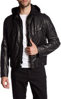 Rogue Faux Leather Faux Fur Lined Jacket