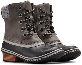 Sorel Slimpack Lace Ii Leather Boot
