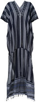 Lemlem striped kaftan dress - women - Cotton/Acrylic - One Size