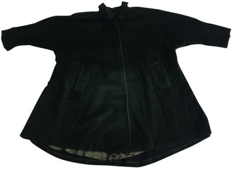 Marella Green Wool Coat for Women