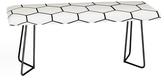 DENY Designs Honeycomb Bench