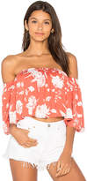 Rachel Pally Esmeralda Top in Pink. - size L (also in M,S,XS)