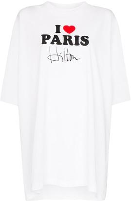 Vetements I Love Paris Hilton T-shirt