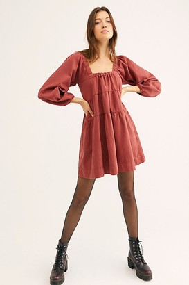 Free People Lou Jean Babydoll Dress