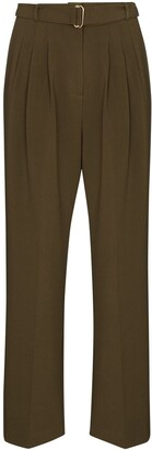 Frankie Shop Dart-Detailing Tapered Trousers