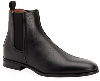 Aquatalia Men's Adrian Waterproof Leather Chelsea Boots