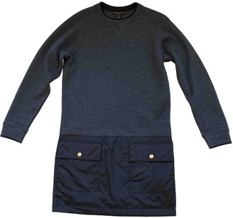 Louis Vuitton Anthracite Wool Dresses