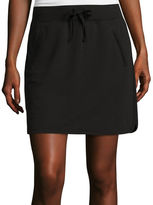Made For Life Made for Life Side Vent French Terry Skort - Petite