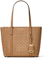 MICHAEL Michael Kors Desi Small Laser-Cut Travel Tote Bag