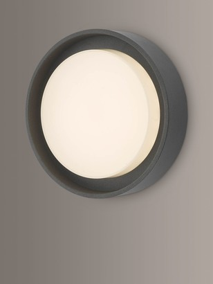 Dar Ralph LED Small Flush Outdoor Wall Light, Anthracite