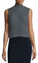 Autumn Cashmere Sleeveless Mock-Neck Tabard