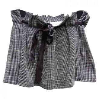 Thakoon Grey Cotton Skirt for Women
