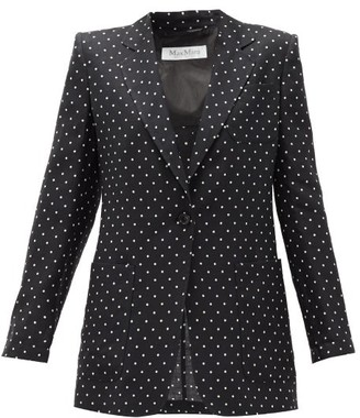 Max Mara Pittore Jacket - Black White