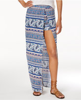 Ultra Flirt Juniors' Printed Maxi Skort