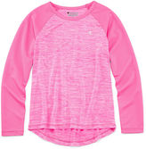 Champion Long-Sleeve Space-Dye Raglan Tee - Girls 7-16