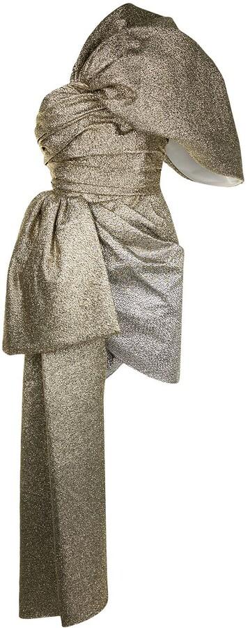 Isabel Sanchis Detachable Sash Mini Dress