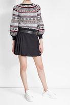 Alexander McQueen Virgin Wool Skirt
