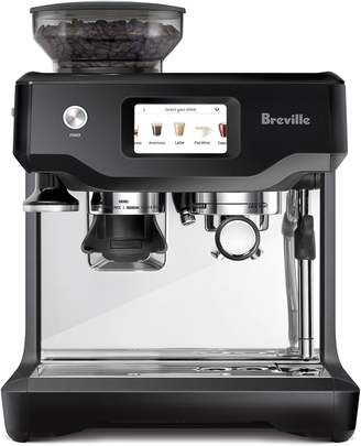 Breville The Barista Touch Automatic Stainless Steel Espresso Machine with Integrated Burr Grinder BES880BTR