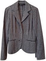 agnès b. Blue Wool Jacket for Women