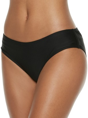 So Mix and Match Ruched-Back Cheeky Bikini Bottoms