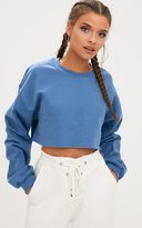 PrettyLittleThing Black Ultimate Cropped Sweater