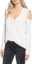Pam & Gela Women's Cold Shoulder Top