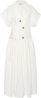 Co Cotton-Poplin Midi Dress