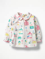 Boden Printed Jersey Top