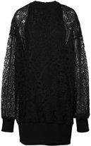 Vera Wang pullover dress with slip - women - Silk/Cotton/Nylon - 2