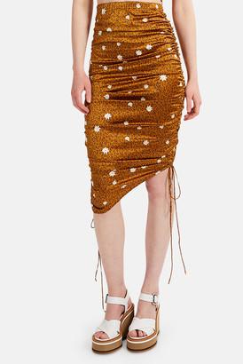 For Love & Lemons Tawney Midi Skirt