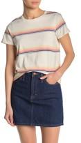 Madewell Northside Vintage Rainbow Stripe Summer Vibe T-Shirt