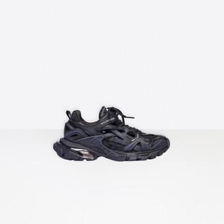 Balenciaga Track.2 in black mesh and nylon