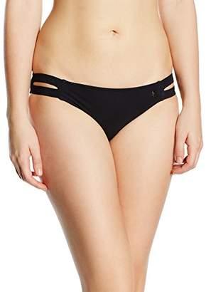 Bananamoon Banana Moon Women's TAMRA BLACK Briefs Bikini Bottoms, Black - Schwarz (NOIR BLAC/SENSTA/MAY/BYE LSE01), (Manufacturer Size: 42)