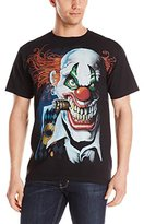 Liquid Blue Men's Plus-Size Joker Clown T-Shirt