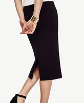 Ann Taylor Sweater Pencil Skirt