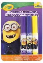 Crayola 3ct Minions Markers - Gone Batty