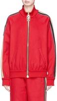 Marc Jacobs Stripe cashmere track jacket
