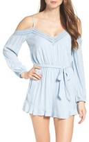 Bardot Women's Tasmin Off The Shoulder Romper