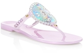 Jack Rogers Georgica Jelly Hologram Thong Sandals
